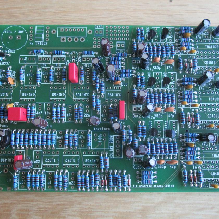 Caps and transistors in