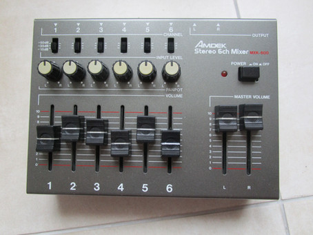 AMDEK MIXER MODIFICATION (PART II)