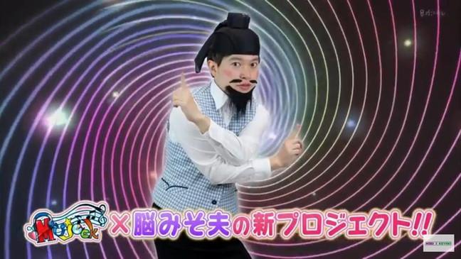 関西テレビ 「ミュージャック」×脳みそ夫のプロジェクト動画 「脳みそ体操」でスタジオmicia premiumで収録されました