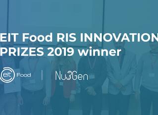 Výhra v soutěži EIT Food RIS INNOVATION PRIZES 2019