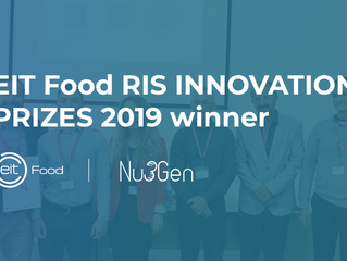 Výhra v soutěži EIT Food RIS INNOVATION PRIZES 2019