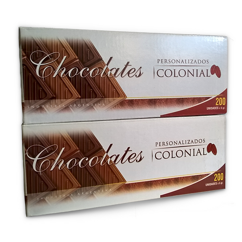 Chocolatitos de cortesía