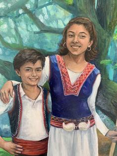 Bulgarian Siblings