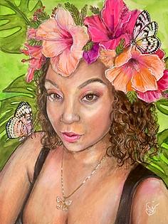 Hibiscus Lady