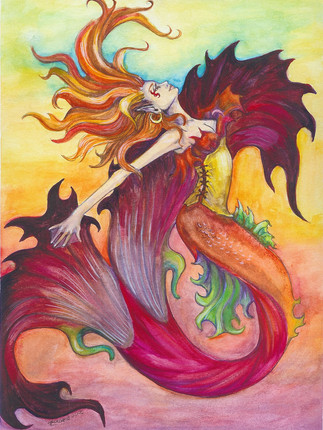 Fire Mermaid