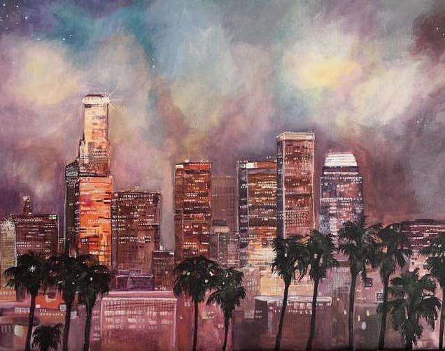 LA Skies - Sold