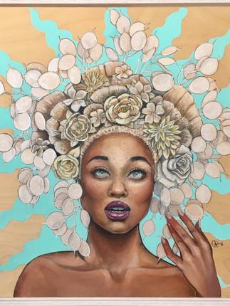 Ethnic Beauty- Sold
