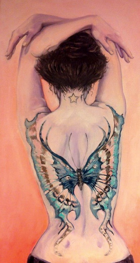 Butterfly on Me- Sold