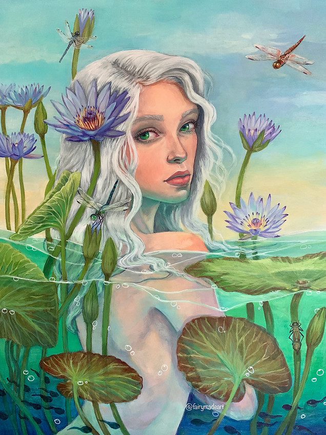 Water Lily- Available