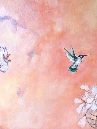 Hummingbird Dreams- Sold