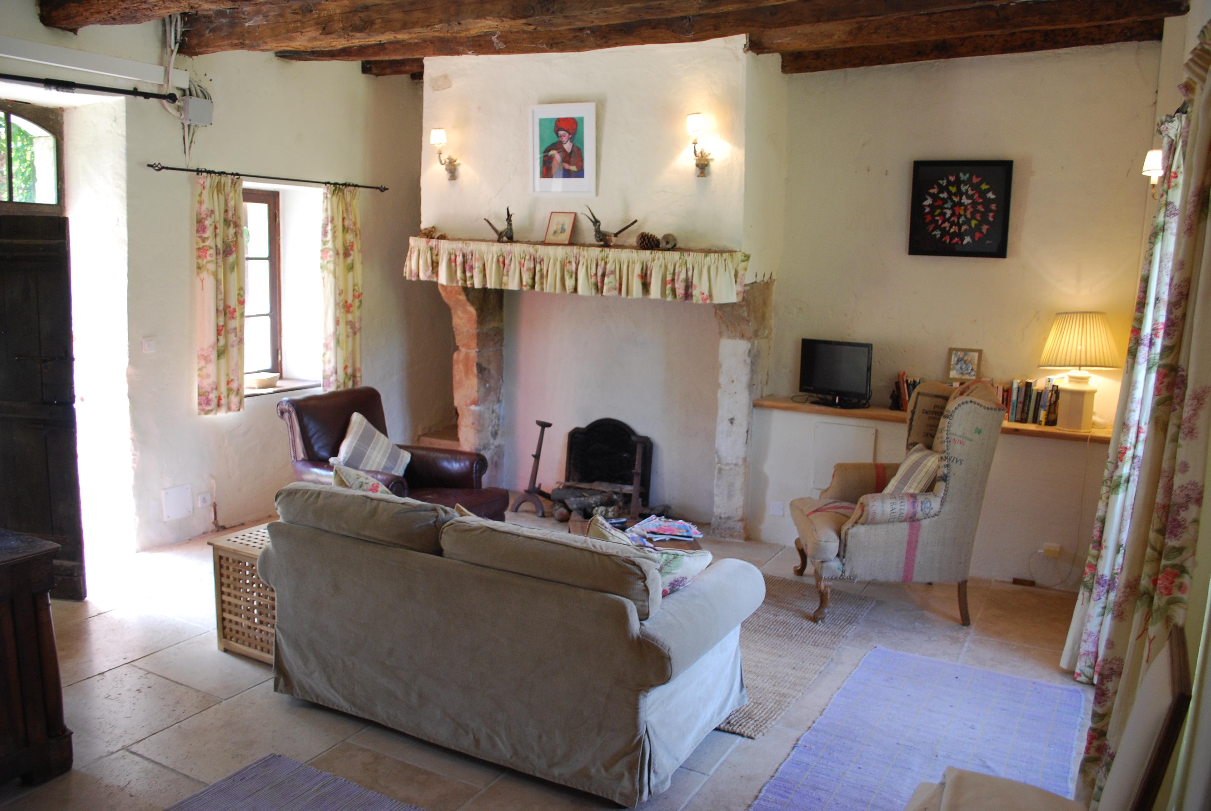 La Ferme - Sitting room