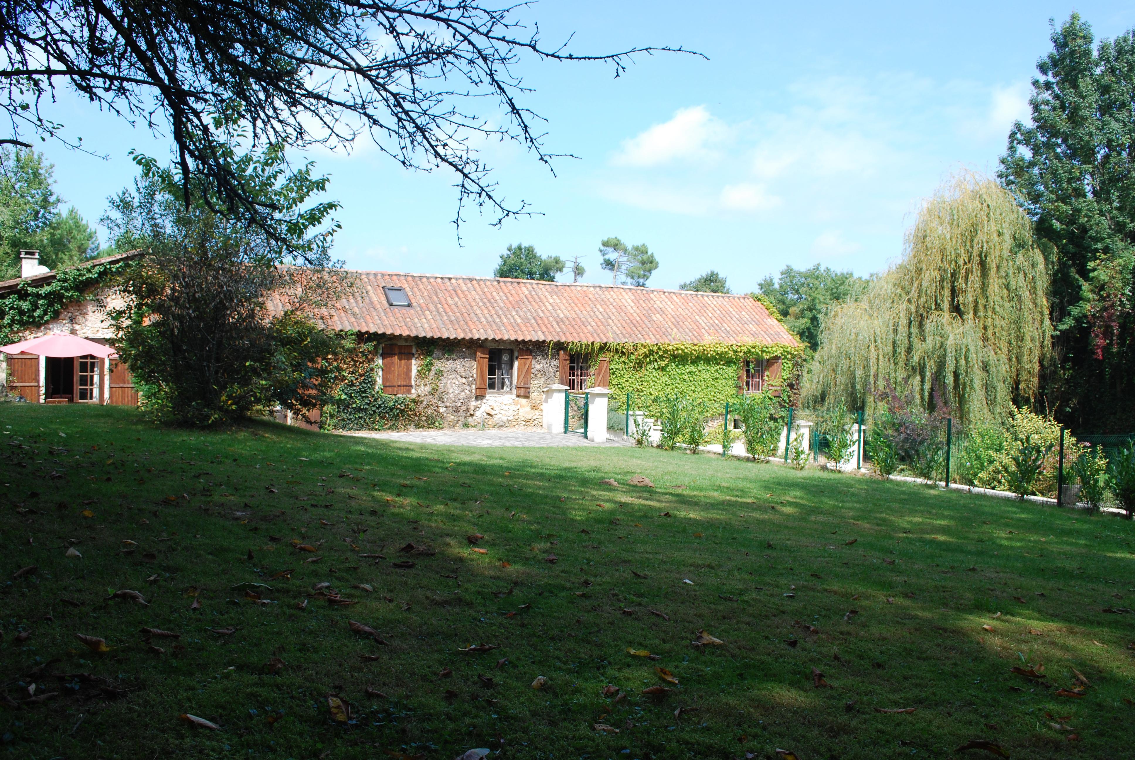 La Bergerie - Rear garden