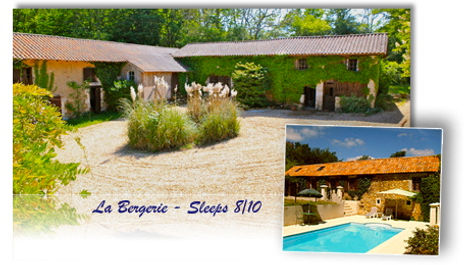Le Bergerie french holiday rental