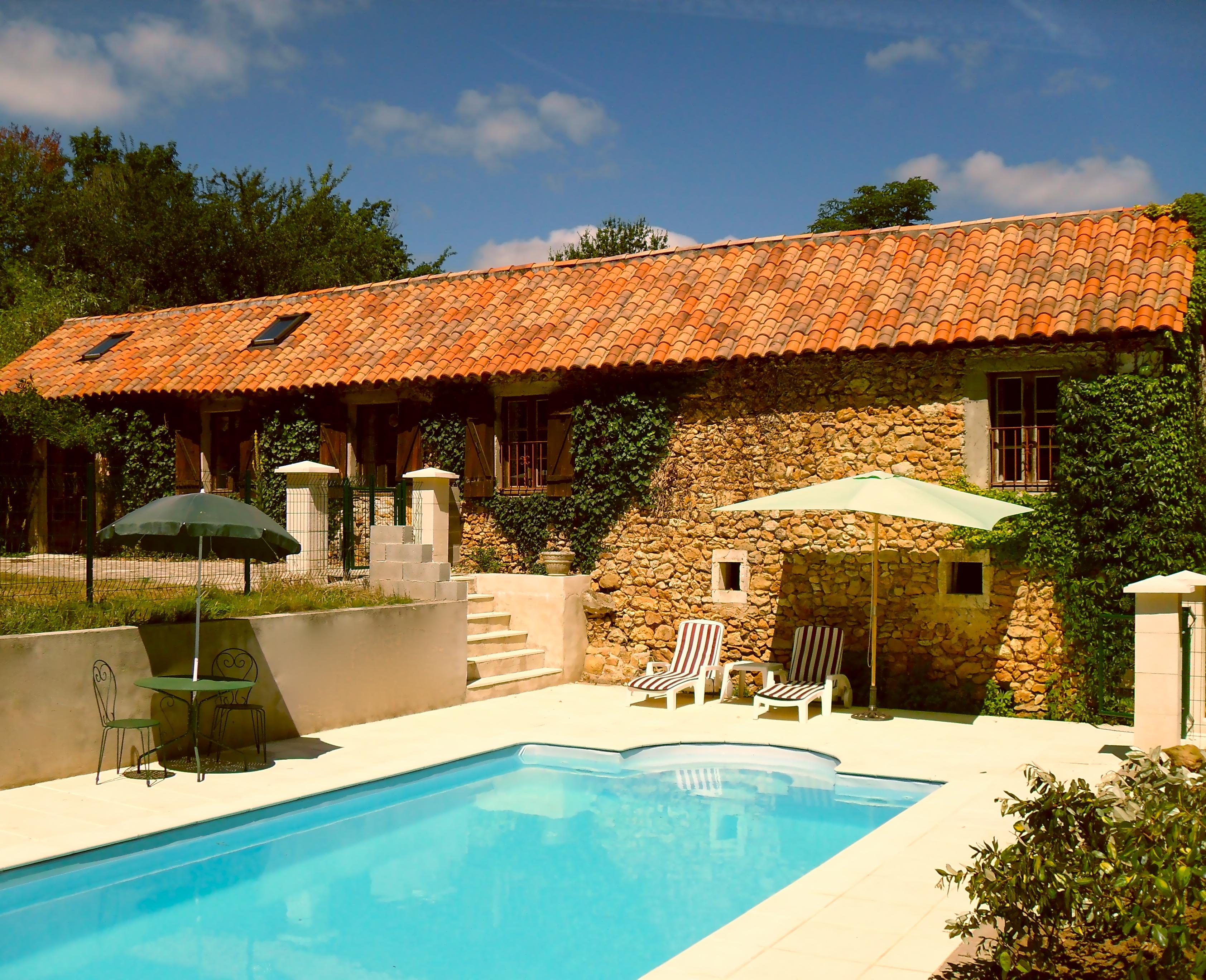 La Bergerie - Swimming pool