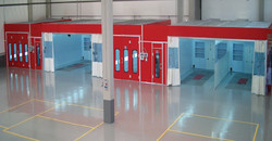 Accudraft-Paint-Booths-Available-in-Different-Colors-Furia-Red