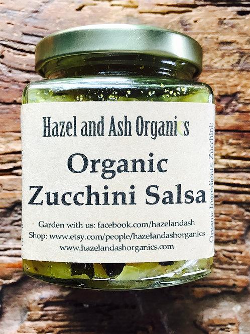 Organic Zucchini Salsa