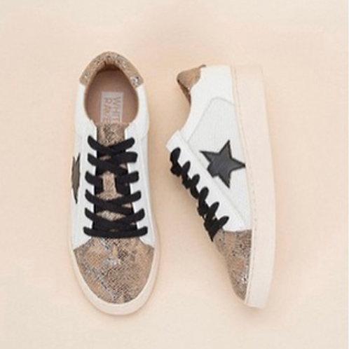 Rowan Black Star Sneaker