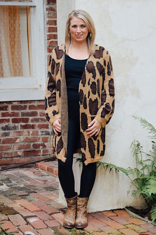 Leopard Caridgan
