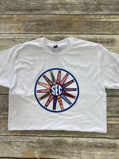 SEC flag tee (crew neck unisex)