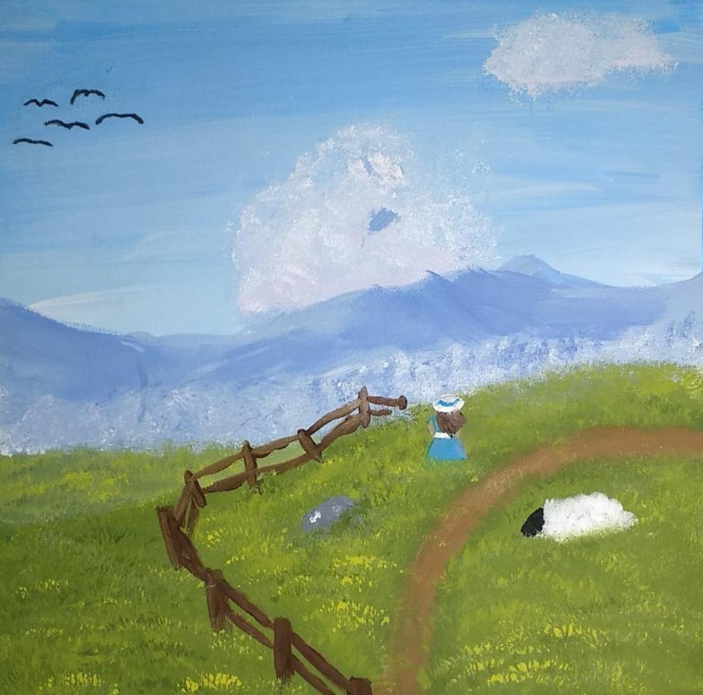 Artist Anna Fugal