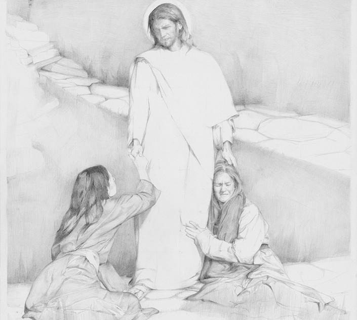 """""""Jesus Met Them Saying All Hail."""""""
