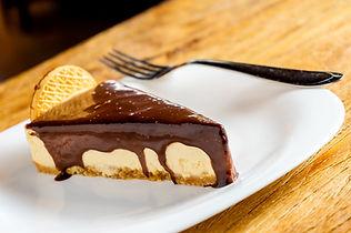 Torta Holandesa de Chocolate Pousada Paiol localizada na zona rural de Atibaia