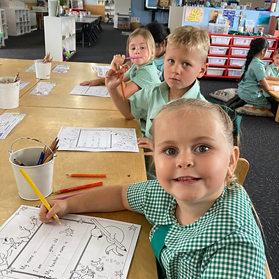 Kinder's First Day 2021