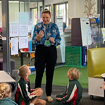 Smart Spelling School Visit from Michelle Hutchinson