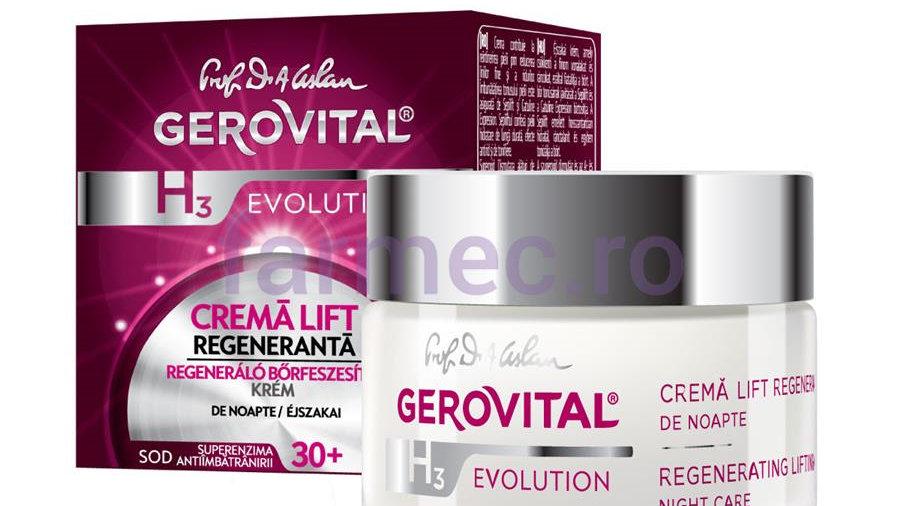 Regenerating Lifting Cream - Night care