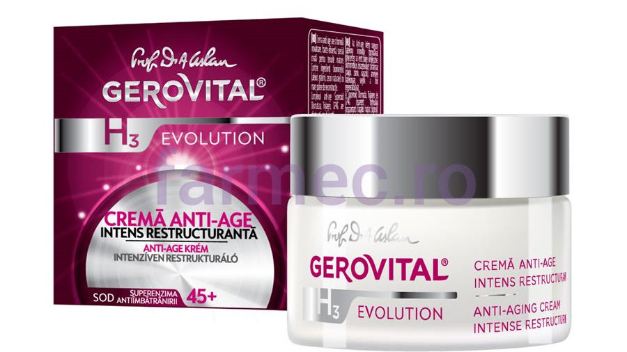 Anti-ageing Cream, intensive restructurating