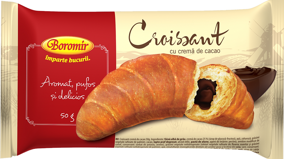 CROISSANT WITH COCOA (CROISSANT CACAO)
