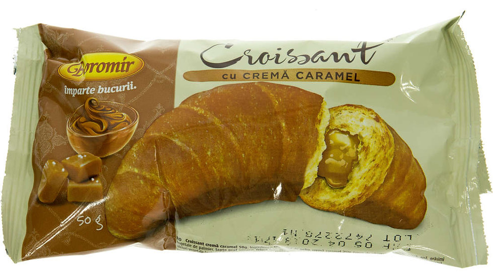 CROISSANT WITH CARAMEL (CROISSANT CARAMEL)