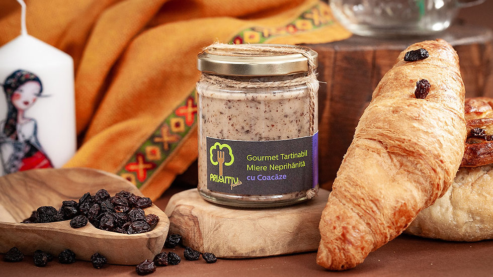 Honey with Black Currants - Gourmet Spread