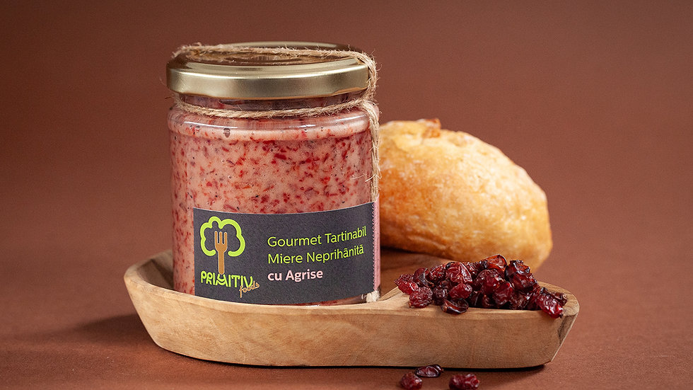 Honey with Gooseberries - Gourmet Spread