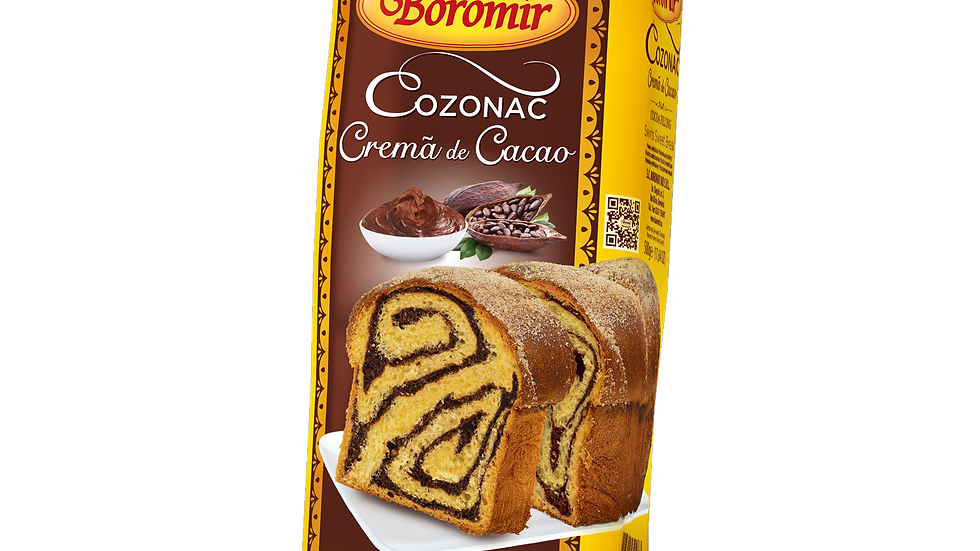 COZONAC WITH COCOA (COZONAC CACAO)