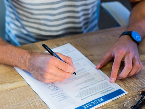 Right for the role: 5 ways to tailor your CV to the job description.