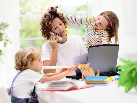 Master Working From Home.... With Kids!