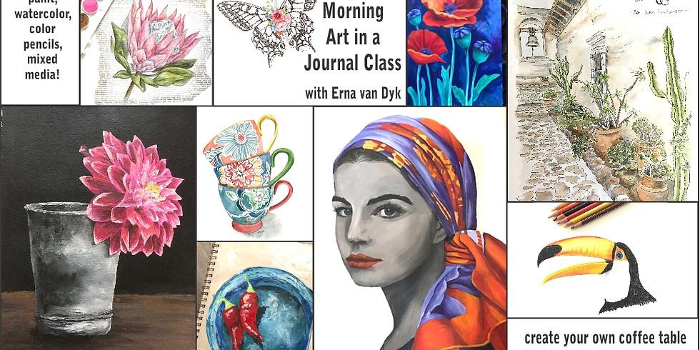 Art in a Journal Fridays