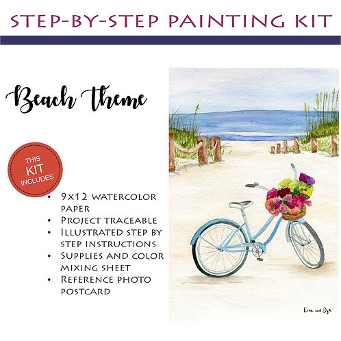 Step by Step Painting Kit: Beach Theme