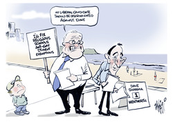 Wentworth by-election Dave Sharma