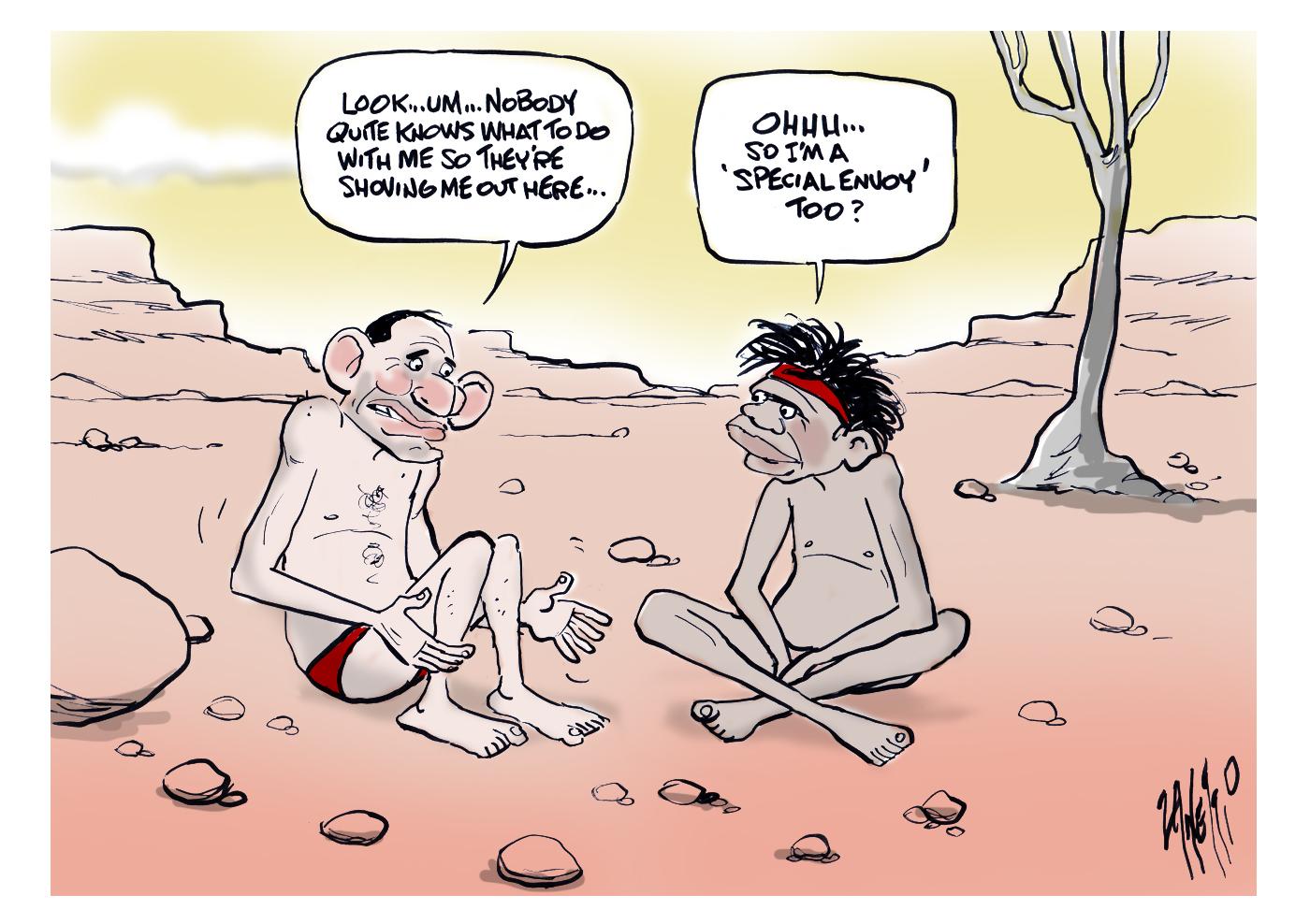 Tony Abbott Indigenous Envoy