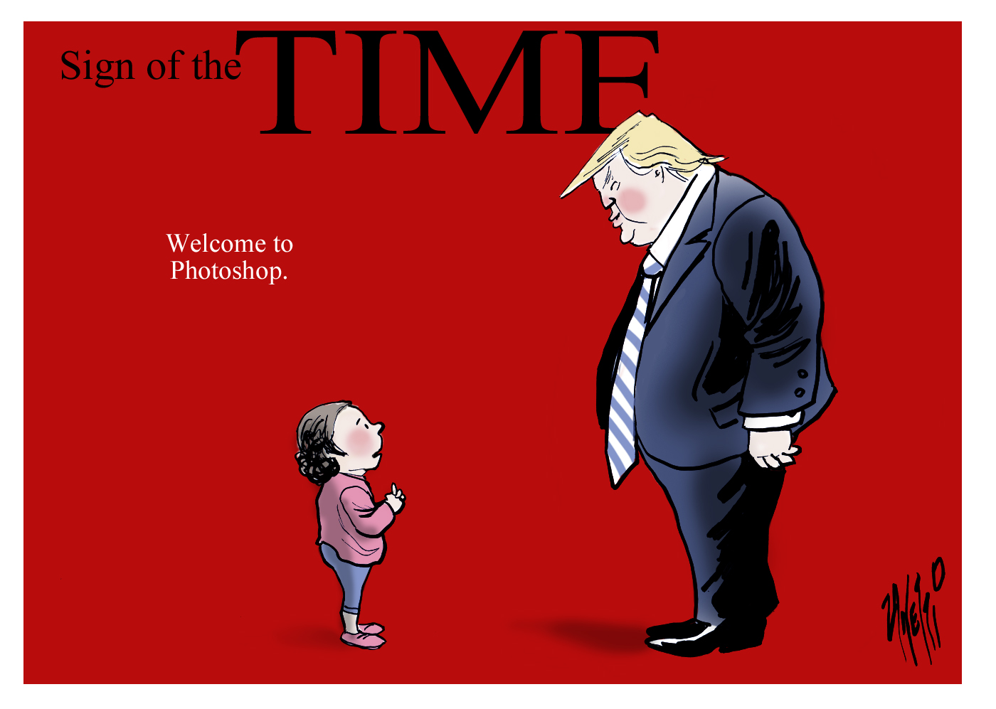 Donald Trump children Time magazine