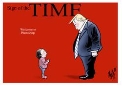 Donald Trump children Time magazine