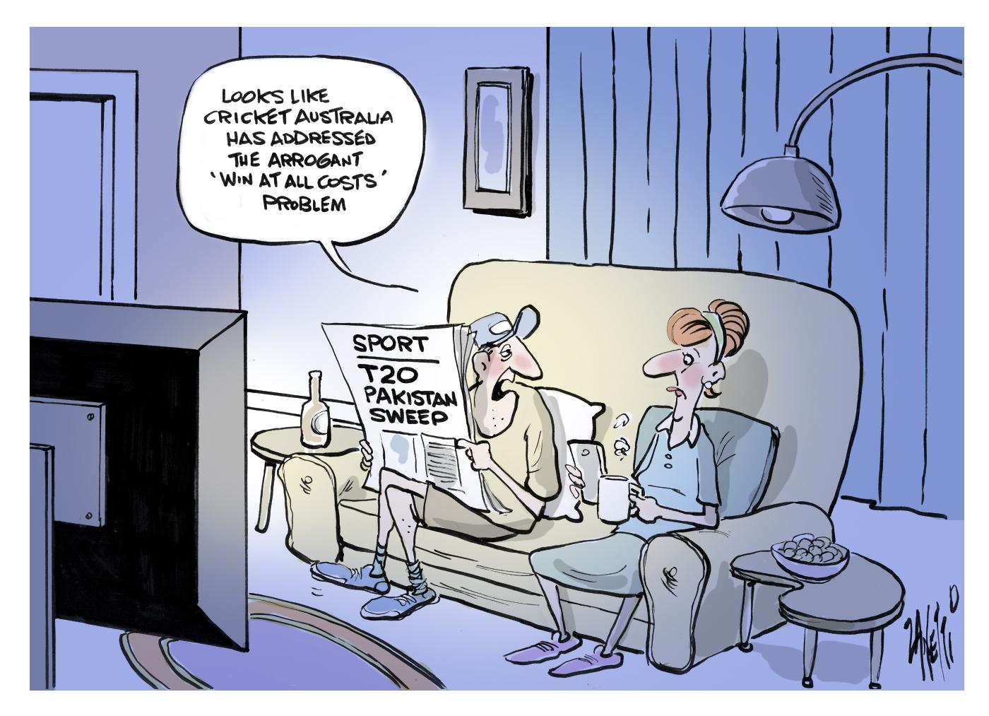 Arrogant Cricket Australia