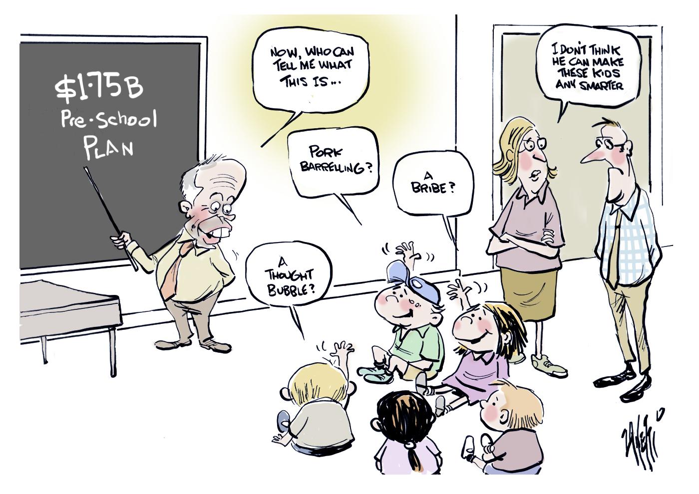 Bill Shorten Early Education Plan