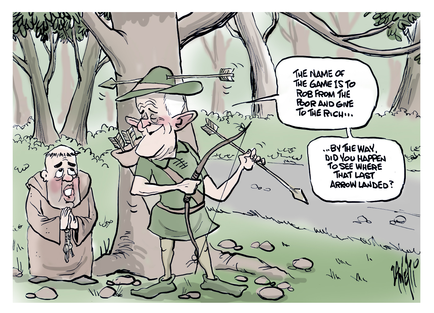 Malcolm Turnbull Banks and NEG