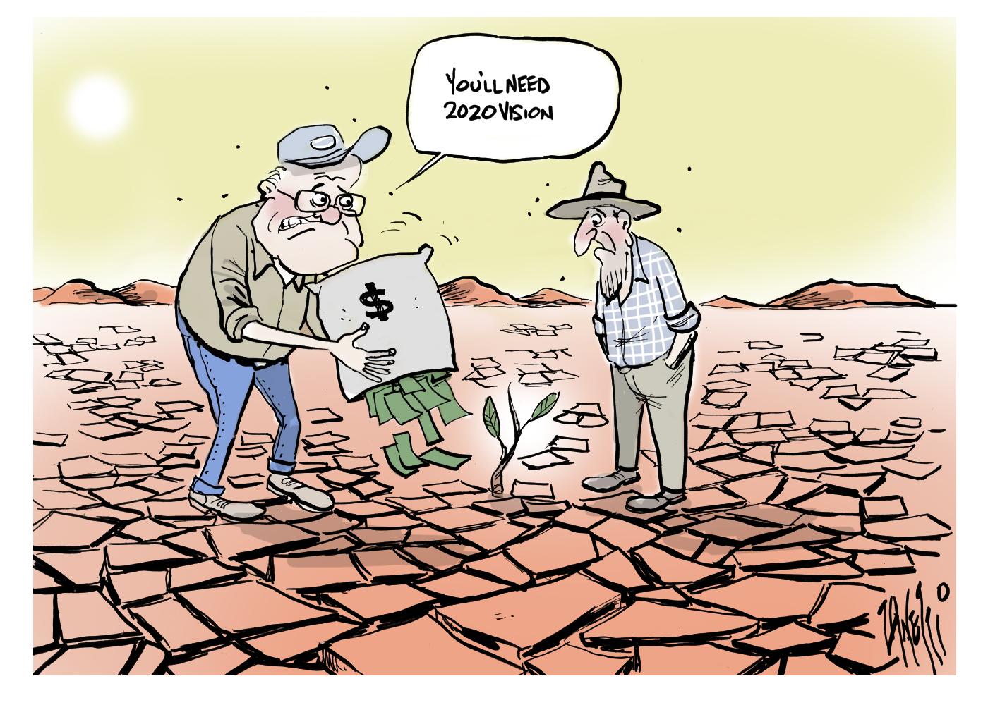 Scott Morrision Drought Relief