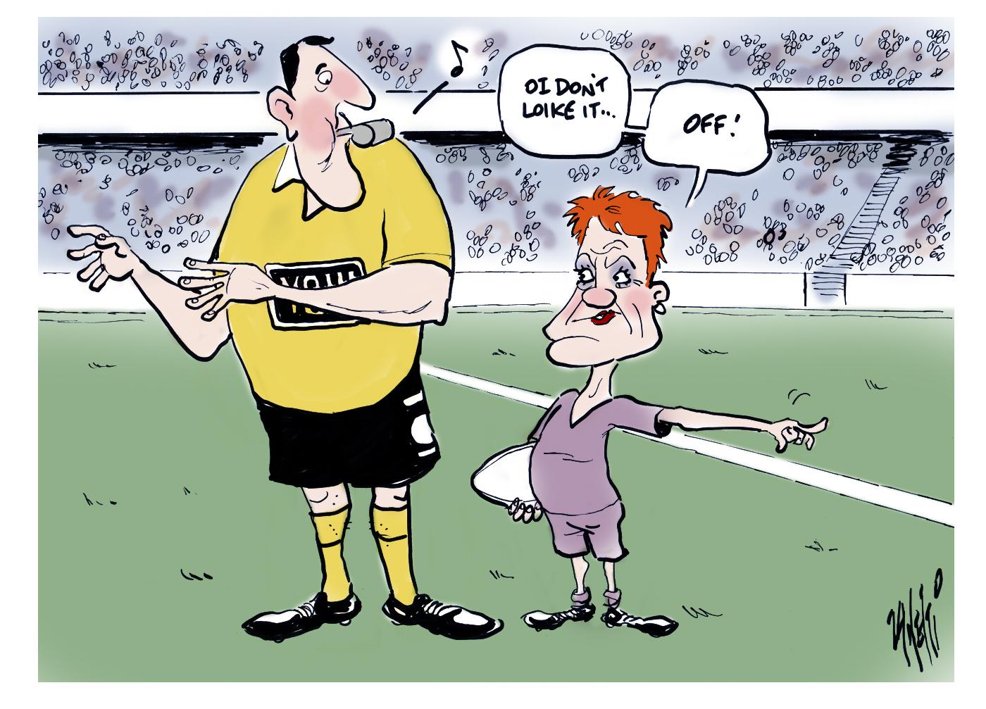 Pauline Hanson State of Origin