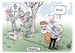 Pauline Hanson and Fraser Anning