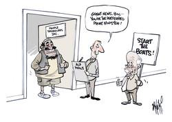 Bill Shorten People Smugglers